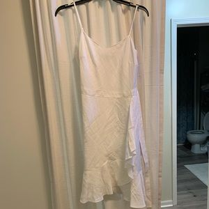 Banana Republic White Linen Dress